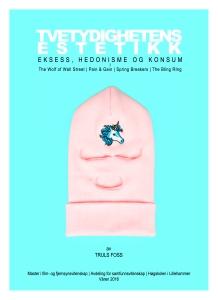 Forside | «Tvetydighetens Estetikk» | Layout: Håkon Borg